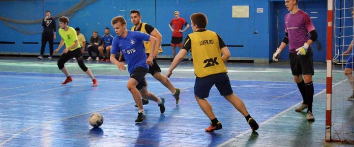 В Институте физической культуры, спорта и здоровья прошёл Кубок по мини-футболу среди юношей