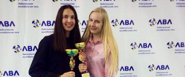 Двойная победа Елизаветы Терентьевой – студентки института физической культуры, спорта и здоровья
