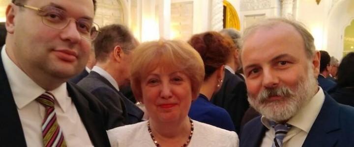 Московский педагогический государственный университет на торжественной церемонии инаугурации Президента Российской Федерации