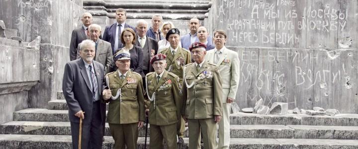 Студенты МПГУ встретились с польскими ветеранами – участниками Второй мировой войны