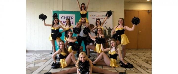 """Команда по Чирлидингу """"FUSION"""" Факультета дошкольной педагогики и психологии заняла 3 место в """"Cheer Dance Show"""""""