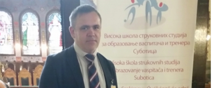 """Наш преподаватель на международной научно-практической конференции """"Horizons 2018"""""""