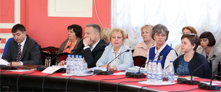 28 мая 2018 г. Заседание ученого совета Университета