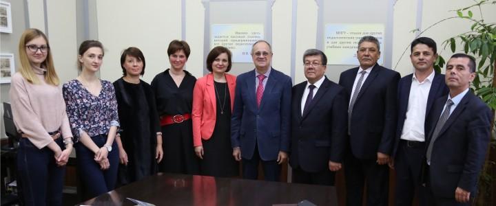 22 мая 2018 г. Визит делегации Бухарского государственного университета. Республика Узбекистан