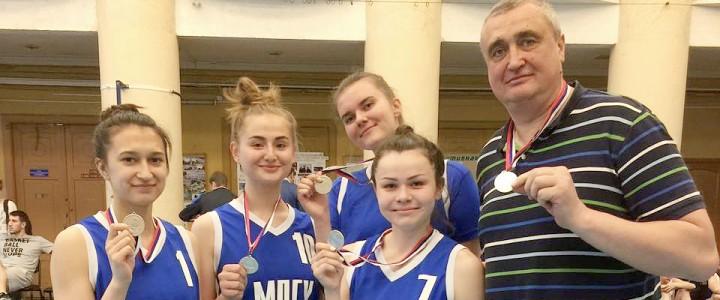Команда МПГУ стала серебряным призером Первенства по стритболу среди женских команд в рамках XXX МССИ