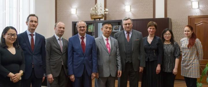 Делегация Монгольского государственного университета образования в МПГУ