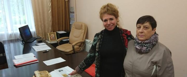 Музей С.И. Фуделя посетила его внучка Литаврина В.М.