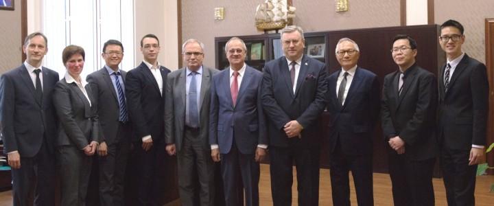 Делегация Тайбэйско-Московской координационной комиссии по экономическому и культурному сотрудничеству (ТМКК) посетила МПГУ
