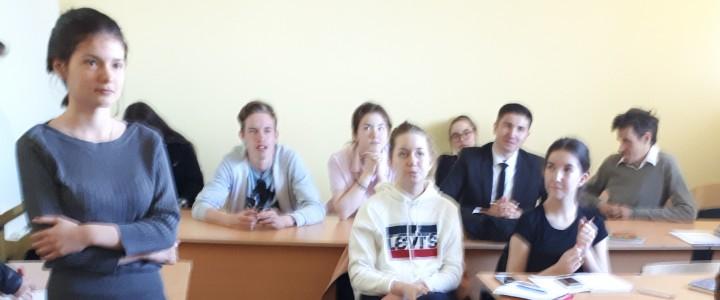 Состоялся мастер-класс тренера молодых парламентеров для участников СПК МПГУ