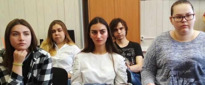 Студенты направления «Организация работы с молодежью» факультета педагогики и психологии готовятся к практике