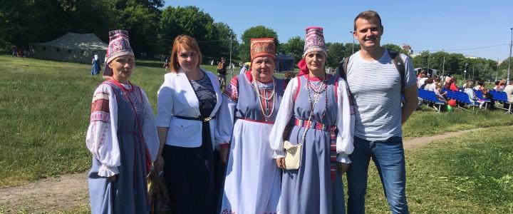 МПГУ на Московском фестивале «Мельница Сампо» в музее-заповеднике «Коломенское»