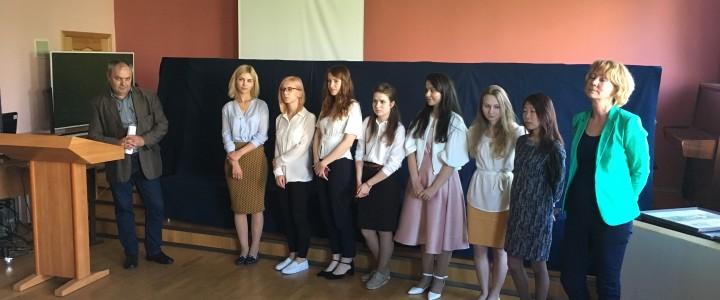 Защита магистерских диссертаций выпускников художественно-графического факультета по кафедре живописи