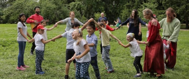 МПГУ на семейном фестивале под открытым небом «Традиция» в усадьбе Захарово