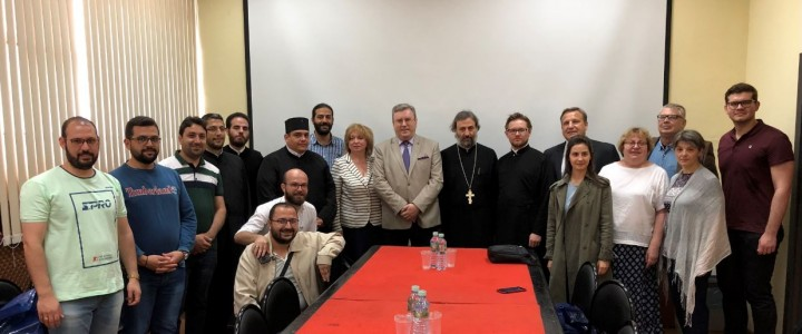 В МПГУ состоялась встреча с представителями Богословского Института Баламандского университета
