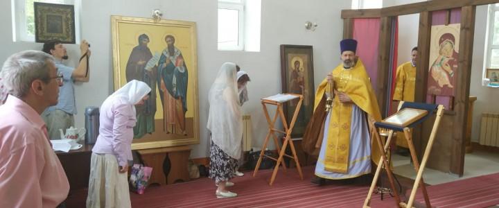 При Покровском филиале МПГУ была совершена Божественная литургия, посвященная 1030-летию Крещения Руси