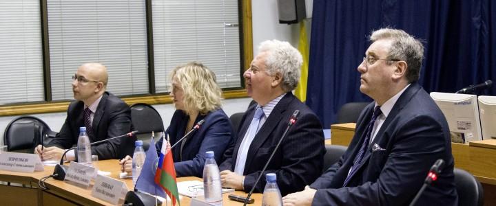 Ректор МПГУ А.В.Лубков принял участие во встрече рабочей группы проекта подготовки совместного российско-белорусского учебного пособия по истории