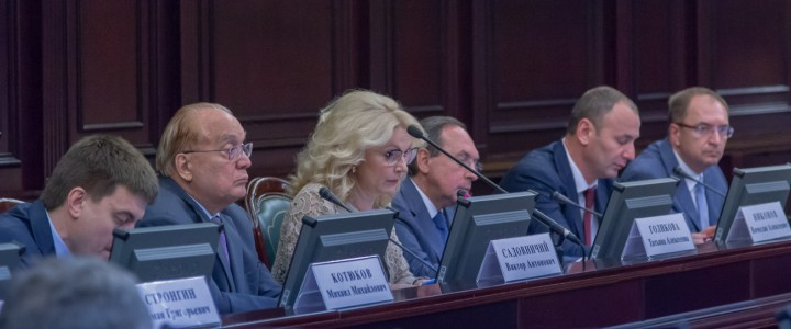 А.В. Лубков принял участие в заседании Совета Российского союза ректоров