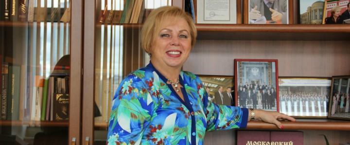 Проректор по учебно-методической работе МПГУ Людмила Александровна Трубина ответила на вопросы абитуриентов