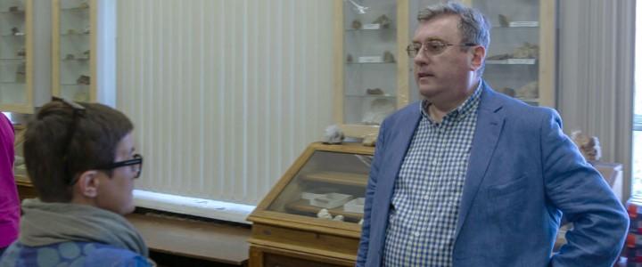 Ректор МПГУ А.В. Лубков проверил ход ремонтных работ и состояние хозяйственных дел