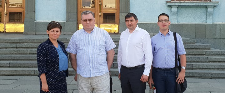 Делегация МПГУ находится с рабочим визитом в республике Крым