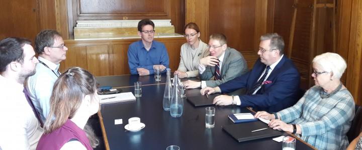 В Лондоне подписан договор о сотрудничестве по направлению Английский язык и международная коммуникация между МПГУ и Лондонским университетом