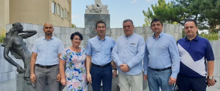 Ректор МПГУ А.В. Лубков провел несколько запланированных встреч в Крыму