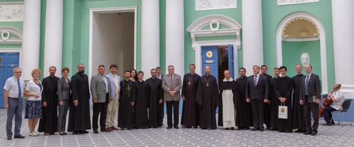 Представители римско-католической церкви посетили МПГУ