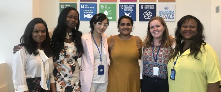 «Мы, народы … вместе  находим  глобальные  решения  для  глобальных  проблем». Конференция  прошла в  Штаб-квартире Организации Объединенных Наций.