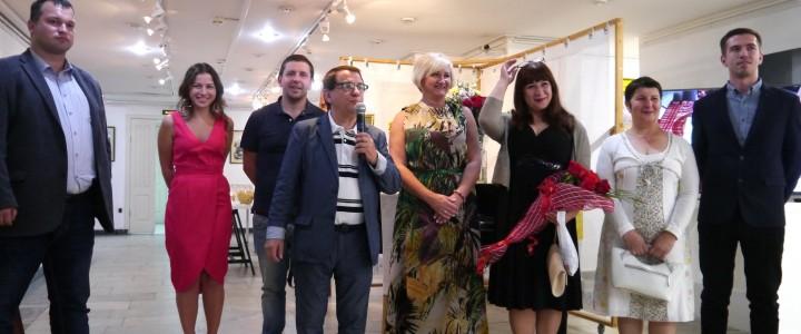 Открытие выставки «Пленэр в городе. Академик Ломов С.П. и ученики»