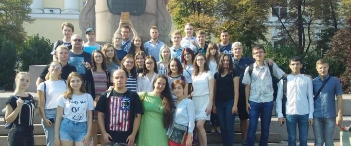 Студенты-историки на экскурсии «Москва историка В.О. Ключевского»: фотоотчет