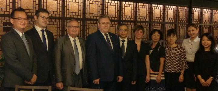 21 сентября завершился визит делегации МПГУ на Тайвань