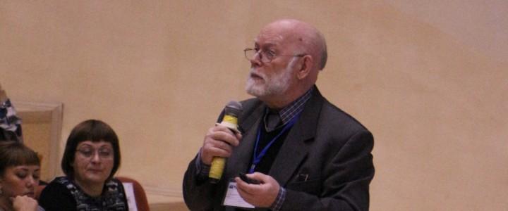 Вербицкий Андрей Александрович на  научном семинаре по теории и практике контекстного образования