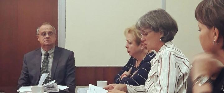 Заседание ректората 18 сентября
