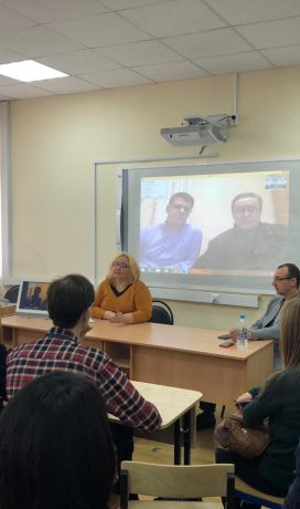 Workshop по синхронному переводу в Институте иностранных языков МПГУ
