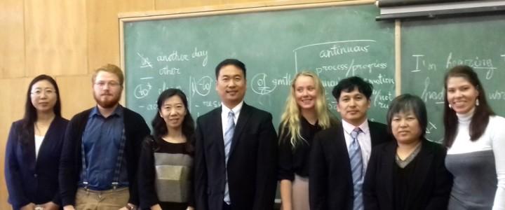 Преподаватели Института иностранных языков Пекинского педагогического университета посетили Институт физики, технологии и информационных систем МПГУ
