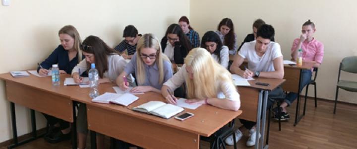 Знакомство студентов первого курса с кафедрой ТиСС