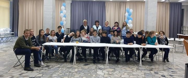 Мир профессий Института детства: университетская среда для восьмиклассников Лицея МПГУ