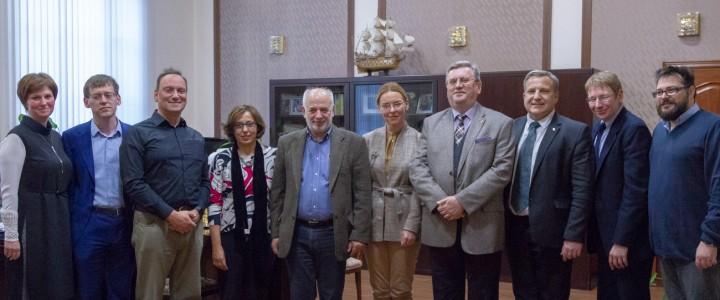 Подписан договор о сотрудничестве по направлению Современные технологии преподавания английского языка между МПГУ и Греческим открытым университетом