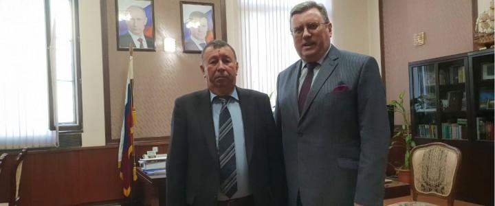 Ректор МПГУ встретился с представителями Национальной академии наук Республики Азербайджан
