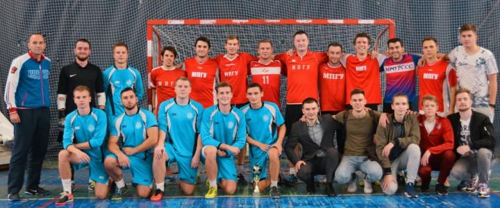 В Институте физической культуры, спорта и здоровья прошел Кубок по мини-футболу памяти ректора В. Л. Матросова