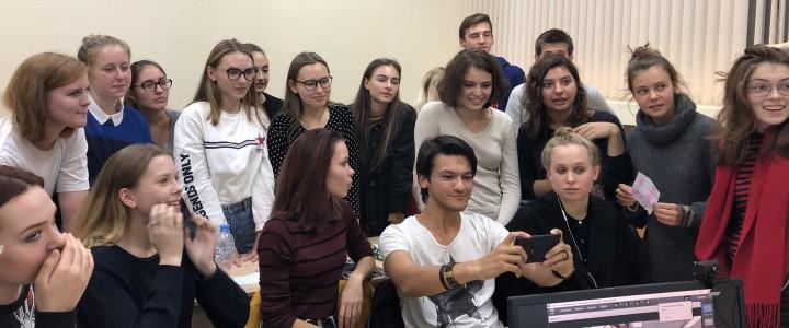 В Институте международного образования МПГУ прошла первая  встреча студентов с представителями Университета Содружеств Вирджинии (VCU, USA)