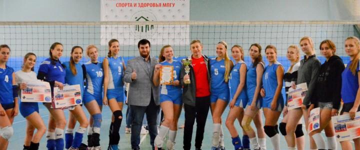 В МПГУ прошел Всероссийский турнир по волейболу среди женских сборных команд педагогических вузов