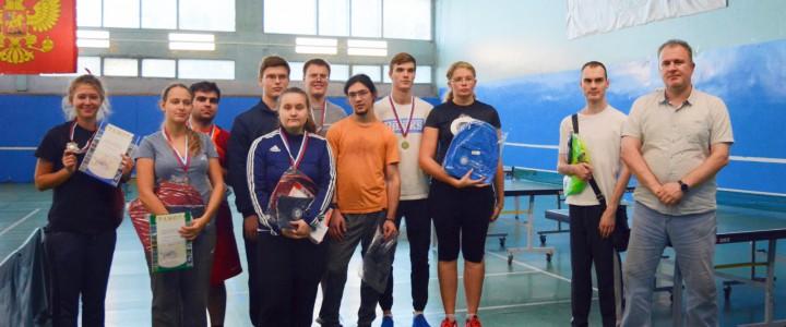 В МПГУ прошел турнир по настольному теннису среди студентов с ОВЗ