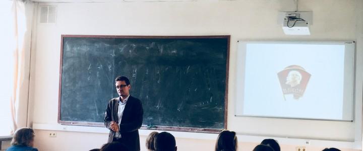 Институт математики и информатики отмечает 100-летие ВЛКСМ