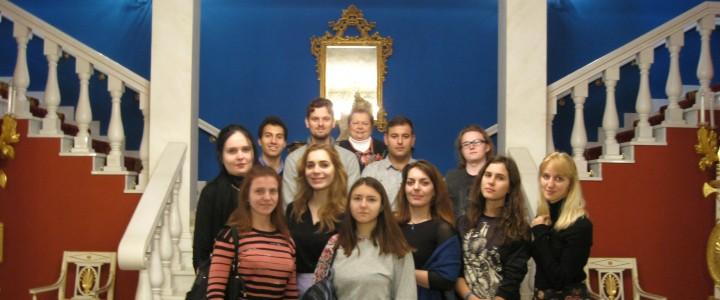 Магистранты ИИиП МПГУ побывали на занятии в музеях