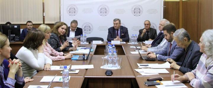 Круглый стол «Базовая модель компетенций цифровой экономики и ее применение для подготовки ФГОС общего образования» состоялся в МПГУ