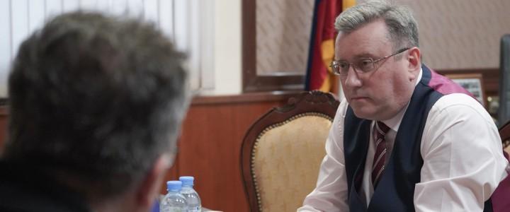 Ректор МПГУ выступил экспертом в исследовании ЦОПП