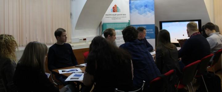 Наша аспирантка приняла участие в круглом столе «Ресурсный центр развития робототехники и технических видов спорта: итоги и перспективы»