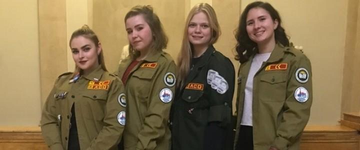 Штаб студенческих отрядов МПГУ стал гостем Торжественного Фестиваля закрытия трудового сезона ССО МЭИ