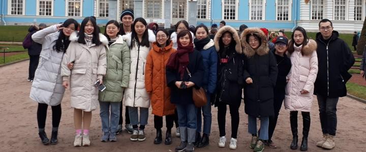 07 – 11 ноября 2018 г. состоялась образовательная экскурсия в город Санкт-Петербург